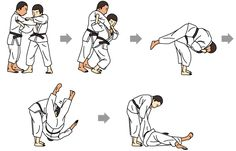 Judo - Quick Guide - Judo is a modern form of martial art which needs great balance upon one's body and mind. The word Judo means gentle way. The sport was originated in Japan Martial Arts Techniques, Self Defense Techniques, Art Techniques, Self Defense Moves, Krav Maga Self Defense, Aikido, Judo Training, Strength Training, Judo Throws