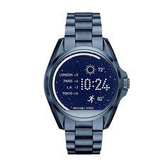 3d1613427e906 Michael Kors Access Touchscreen Blue Bradshaw Smartwatch MKT5006.  Technology meets style with our Michael Kors