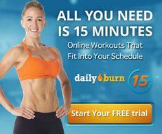 FREE Trial of DailyBurn | Closet of Free Samples | Closet of Free Samples | Get FREE Samples by Mail | Free Stuff | closetsamples.com