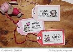 Nichol Spohr LLC: Mama Elephant November Stampede Blog Hop | Little Cat Agenda (video)