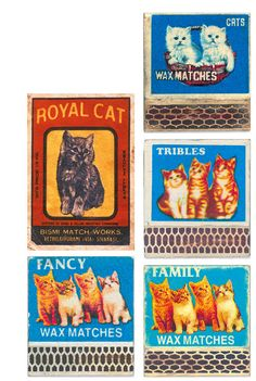 Vintage Indian Matchbook Labels