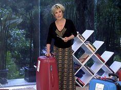 Vai viajar? Glória Kalil dá dicas de como arrumar as malas (Foto: Mais Você/ TV Globo)