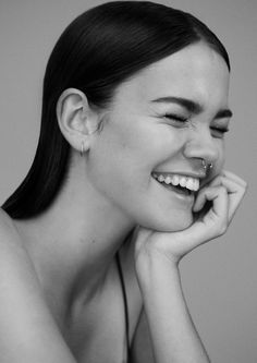 oystermag: Introducing: Maia Mitchell Shot By Romain Duquesne For Oyster #106