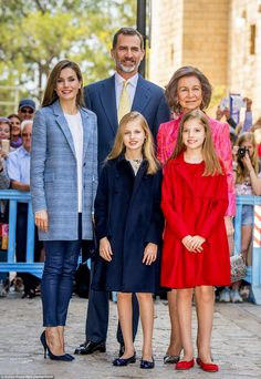 The royal family spend plenty of time in Mallorca and love to holiday there