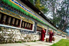 Karma wheels, Tawang Monastery