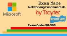 Complete helping material for Networking Fundamentals Exam is available with updated stuff.   http://www.troytec.com/98-366-exams.html