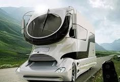 futuristic mobile home Luxury Campers, Luxury Motorhomes, Luxury Rv, Rv Campers, Luxury Caravans, Luxury Vehicle, Palazzo, Colani Truck, Carretas Top