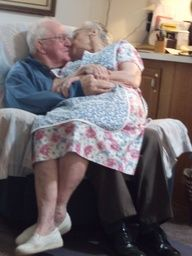 I love you more today than yesterday. Romance is all around: young behavior yet, deep true love! This Is Love, Real Love, Love You More, Love Is Sweet, True Love, Old Love, Vieux Couples, Old Couples, Elderly Couples
