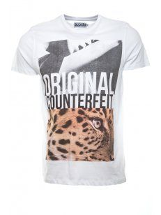 Blood Brother Original Counterfeit T-Shirt White - £35