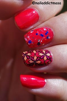 Nail Addict: Stamping decal