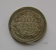 Netherlands 10 Cents silver coin 1927 - coinurrency.com