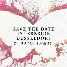 Alchera'nın kelebekleri Interbride Dusseldorf'da! / The butterflies are at Interbride Dusseldorf! Stay tuned! #alcheracom #interbride #today