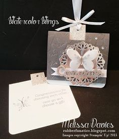 FREE TUTORIAL by Melissa Davies @rubberfunatics #rubberfunatics #stampinup