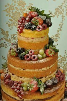 I love naked cakes :)........Cakes