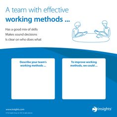 Tips for becoming an effective team