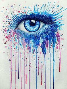 Frost - Mind Blowing Eye Art by Svenja Jödicke | Cuded