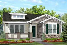 House Plan 50-122 http://www.houseplans.com/plan/936-square-feet-2-bedrooms-1-bathroom-craftsman-home-plans-0-garage-5544