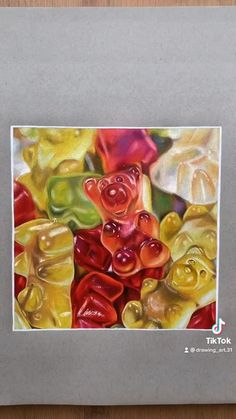 Gummy bear drawing :) ig- lewisdraws