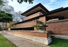 Robie House, Frank Lloyd Wright, Chicago