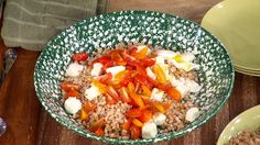 How to Make Caprese Di Farro: Debi Mazar shows you how to incorporate farro into all of your healthy homemade meals.