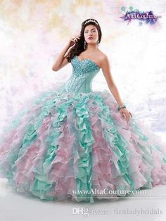 2015 Quinceanera Dresses With Jacket Multi Colored Organza Beaded Sweetheart Colorful Nice Ball Gowns Under 300 Collection Website Lace Up