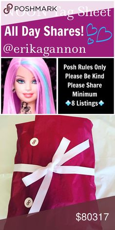 🦄THURSDAY SHAREBEAR SIGN UP🦄 💜All Poshmark Compliant Closets are Welcome! 💜Please tag only your closet name below💜Please share at least 8 For Sale Listings from the closets below💜Please take your time sharing these lovely closets! Sign Up closes at Noon EST but you have throughout the day to complete your POSHLOVE and shares. Please spread joy and love and lift up your fellow SHAREBEARS!💜  Please remember to sign out when finished and have FUN!💜💜 Miss Me Jeans Boot Cut