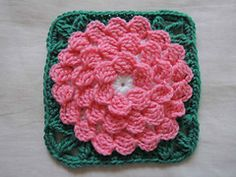 Ravelry: Mum In Treble Afghan Square pattern by Julie Yeager