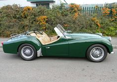 Historics at Brooklands - Specialist Classic and Sports Car Auctioneers - 1960 Triumph TR3A