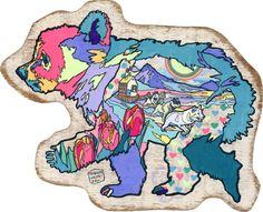 bear's family by ASAKURA KOUHEI, via Behance