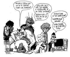 Zerocalcare in mostra a WOW Spazio Fumetto #Milano #comics(16/06-31/07,2013)
