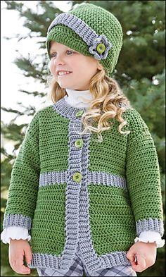 Ravelry: Sunday Best Coat & Hat pattern by Amanda Saladin