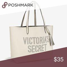 NWT White VS tote NWT White BS tote with tassel Victoria's Secret Bags
