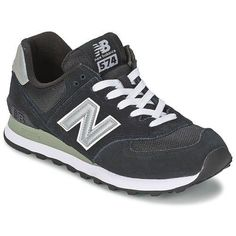 New Balance M574 Sneakers Classic Leather Fashion new shoes trainers mens Black #NewBalance #VINTAGE