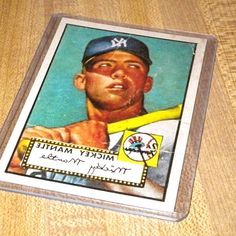 1952 TOPPS  311 MICKEY MANTLE, N.Y.YANKEES, GOOD, REPRINT BASEBALL CARD!! in Sports Mem, Cards & Fan Shop, Sports Trading Cards, Baseball. SEE PICTURES OF THE CARD FOR CONDITION, WHICH I BELIEVE IS GOOD,(I AM NOT A BASEBALL CARD GRADER), CREASE, NICE CARD!, GREAT. #BaseballCards #baseballcard #Baseball #Cards #Sports #Deals #Collectibles #gifts