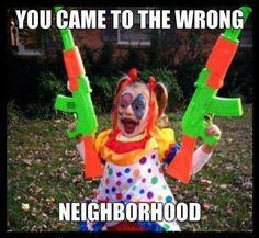 Welcome to my neighborhood!! #funnykids