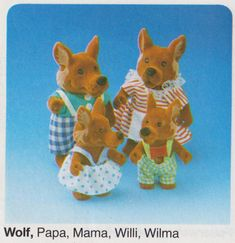 The Wolf Forest Family