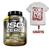 Muscletech Iso Zero Carb, zero fat, zero sugar with t-shirt free. learn more at http://www.corposflex.com/en/iso-zero-performance-series-5-lbs-muscletech