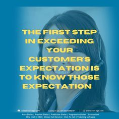 The first step in exceeding your customer's expectation is to know those expectations. visit: #quotesoftheday #quoteschallenge #quotes #inpirationalquotes #thinkingquotes #marketingstrategy #marketing #vertageindia #VertAge #Xenottabyte