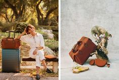 Away #luggage just released a collection with Rashida Jones, and it's one of the most beautiful collaborations we've seen. #fallstyle #travel #travelessentials