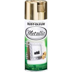 Spray Paint: Rust-Oleum Specialty Paint 11 oz. Metallic Gold Spray
