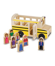 This Melissa & Doug School Bus Toy by Melissa & Doug is perfect! #zulilyfinds