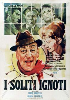 I soliti ignoti di Mario Monicelli, 1958
