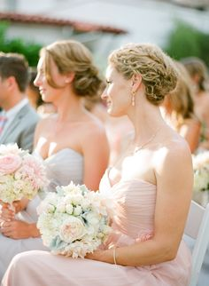 #Hairstyle | See more of this #Wedding on  http://stylemepretty.com/2013/11/06/ojai-wedding-from-lacie-hansen-photography/
