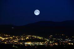 """Fomunity - Fotografía """"Noche de luna llena sobre Plentzia"""" presentada en el concurso """"Fotografía nocturna"""""""