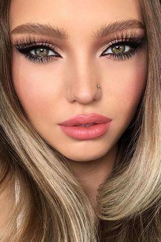 30 Dreamy Boho Wedding Makeup Looks ❤ boho wedding makeup fox eyes shimmer with long lashes piminova_valery #weddingforward #wedding #bride #weddingmakeup #bohoweddingmakeup