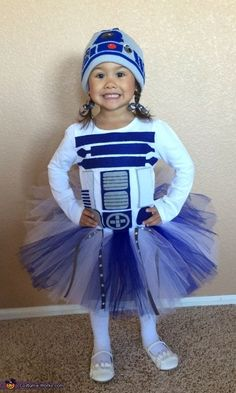 Lady R2D2 - Halloween Costume Contest via /costume_works/
