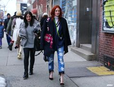 Taylor Tomasi Hill at New York Fashion Week F/W 2014-15
