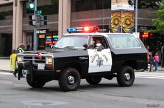 CHP Dodge Ramcharger Law Enforcement Today www.lawenforcementtoday.com