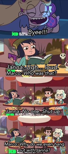 """""""Why are we even friends with Janna?"""" 