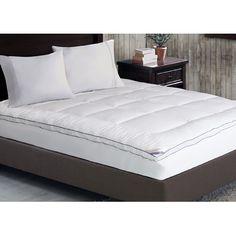 Kathy Ireland Home by Blue Ridge Heirloom 1000 Thread Count Cotton Rich Swiss Dot Mattress Pad & Reviews | Wayfair